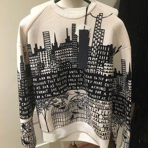 Brand new w/ tags Juun J x Rob Dylan sweater
